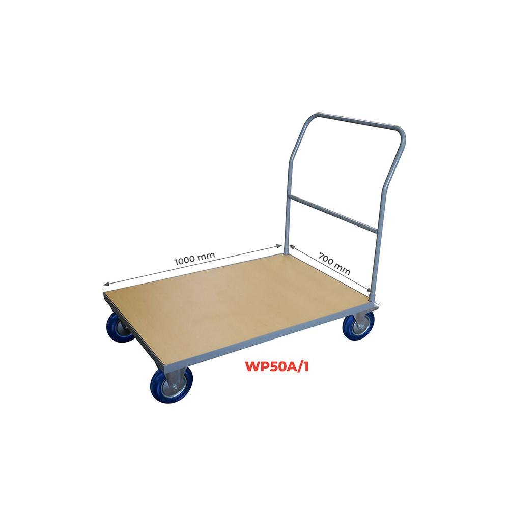 Chariot 500 Kg timon fixe WP50A