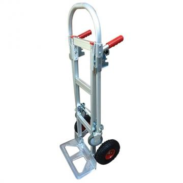 Diable aluminium transformable en chariot - STC2 -  250 / 350 kg